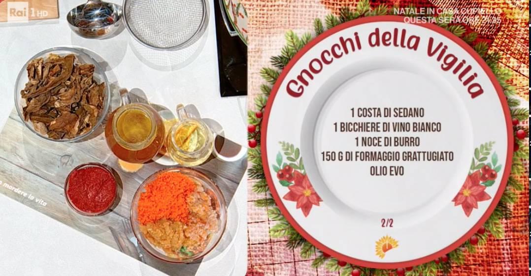 Gnocchi della vigilia di Natale di Daniele Persegani, ricette E' sempre mezzogiorno