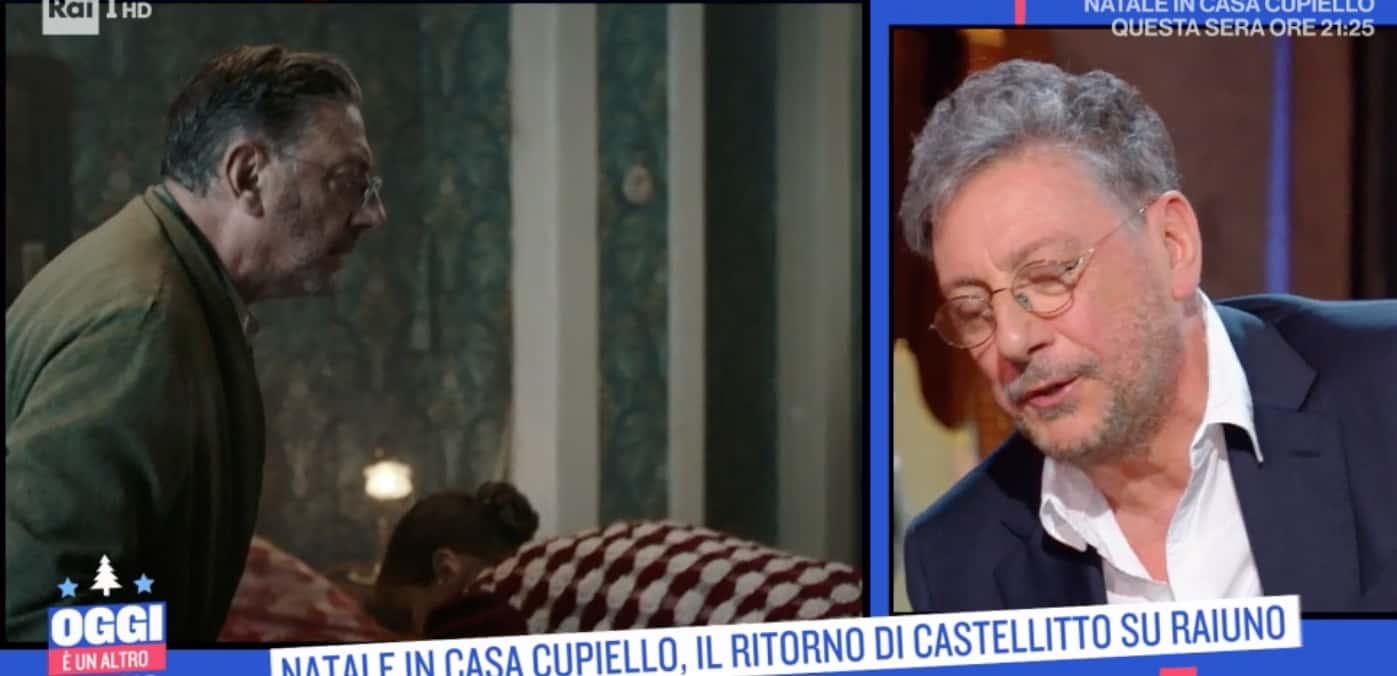 """Sergio Castellitto spiega il significato di """"Te piace 'o presepio"""""""