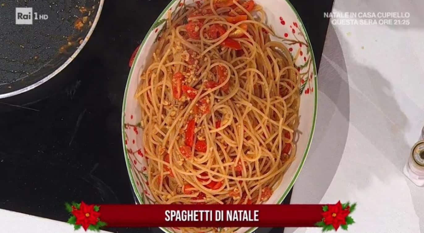 Spaghetti di Natale di casa Frenda da E' sempre mezzogiorno