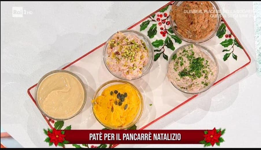 Patè per il pancarrè natalizio di Zia Cri da E' sempre mezzogiorno