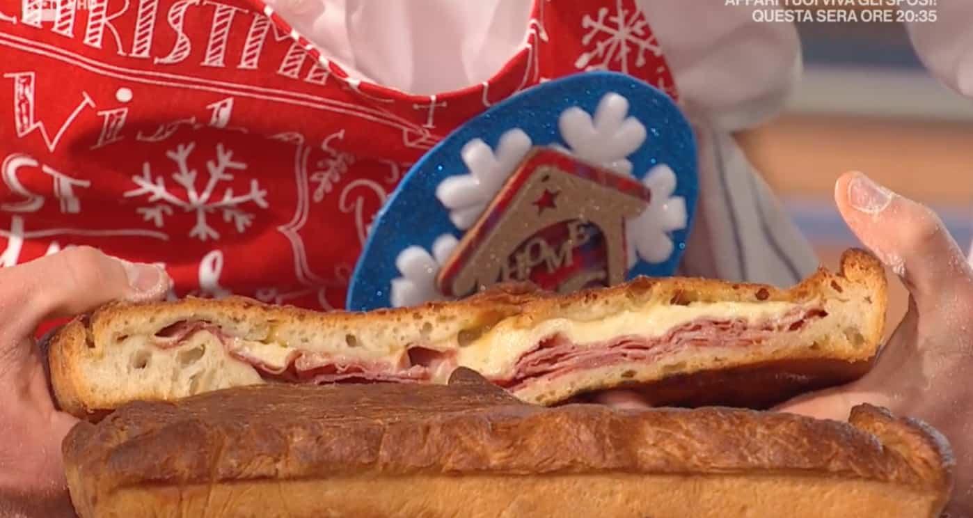 Pizza ripiena cotto e fontina, dopo il Natale Fulvio Marino pensa al Capodanno