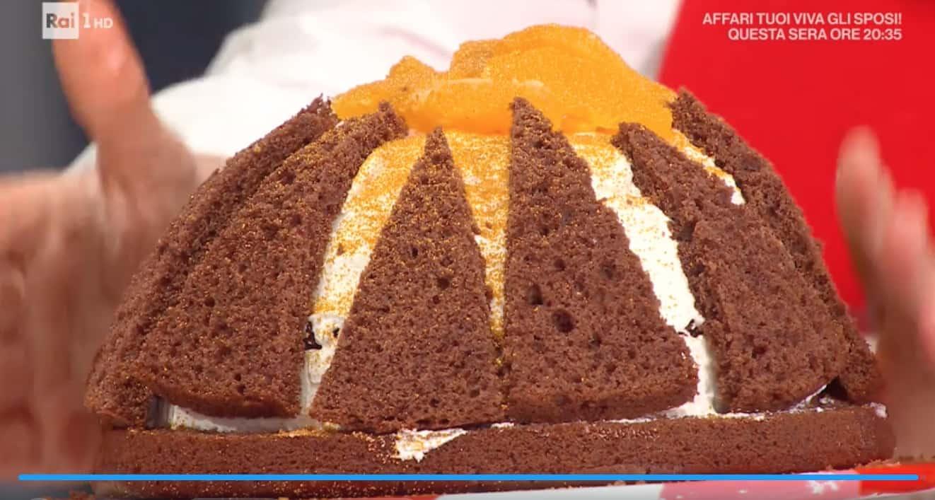 La torta vulcano di Natalia Cattelani, le ricette dolci E' sempre mezzogiorno