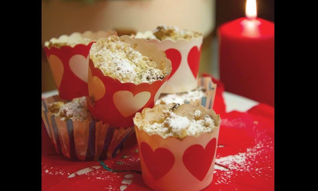 Muffin di panettone di Benedetta Parodi, dolci ricette del recupero
