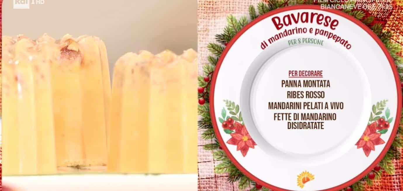 Bavarese al mandarino e panpepato di zia Cri, la ricetta dolce per Capodanno
