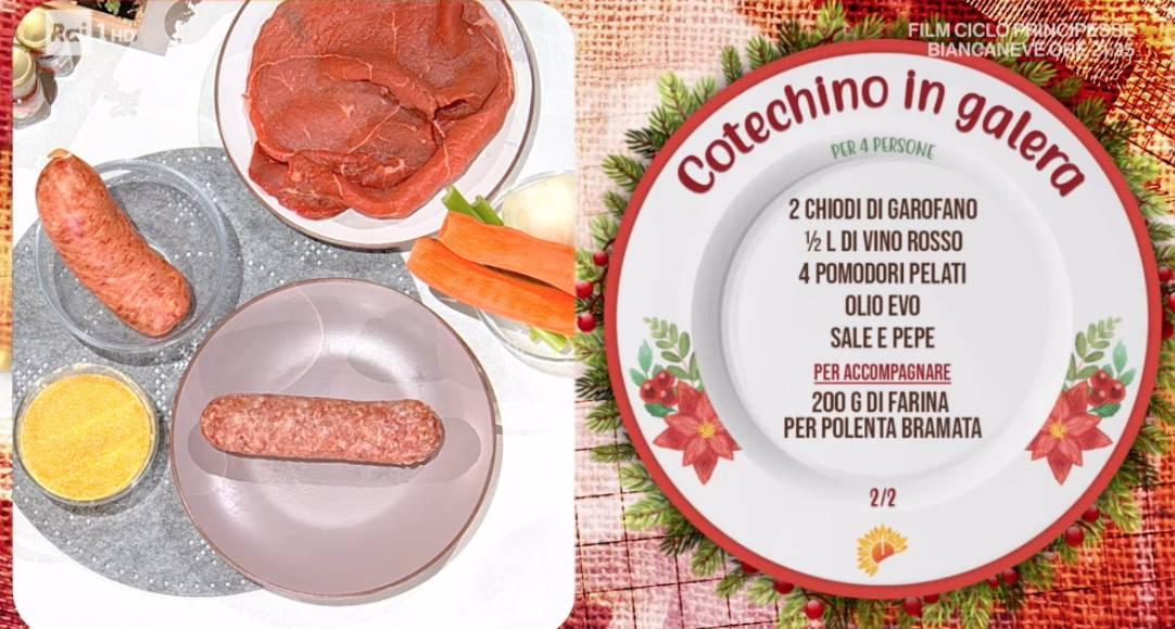 Cotechino in galera di Daniele Persegani, la ricetta di Capodanno E' sempre mezzogiorno