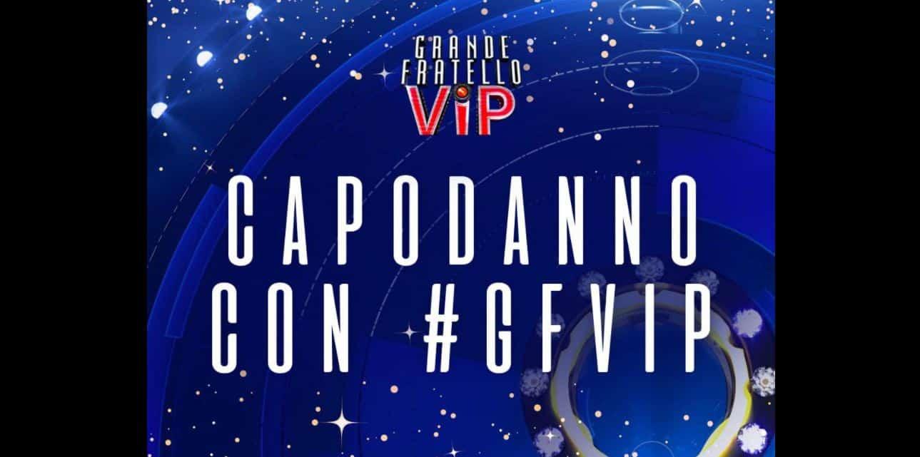 Grande Fratello VIP Happy New Year per il Capodanno di Canale 5: tutti gli ospiti