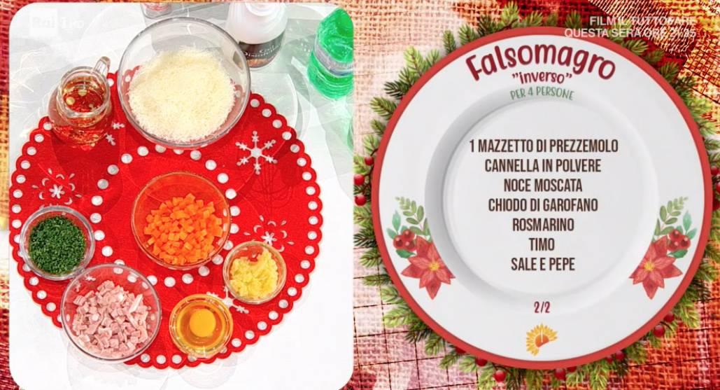 Falsomagro di Fabio Potenzano, la ricetta siciliana E' sempre mezzogiorno