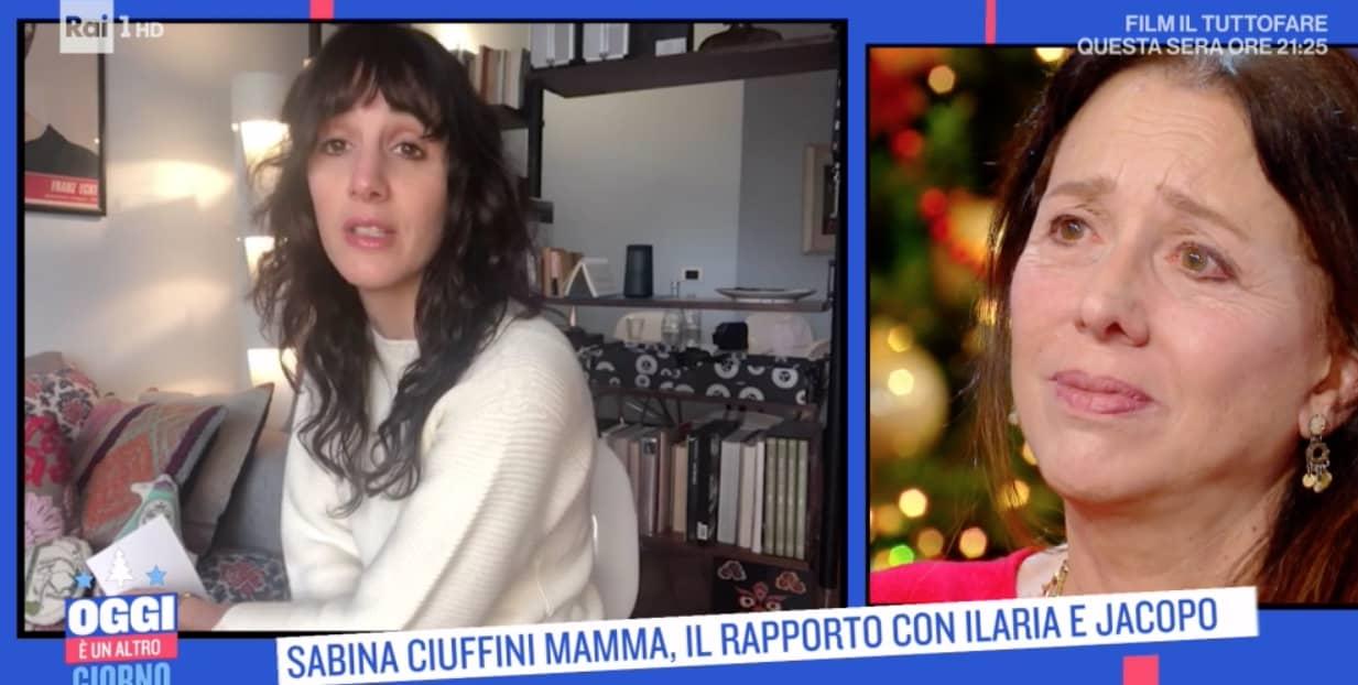 La morte del fratello e della sorella di Sabina Ciuffini ma è sua figlia che la fa emozionare  (Foto)