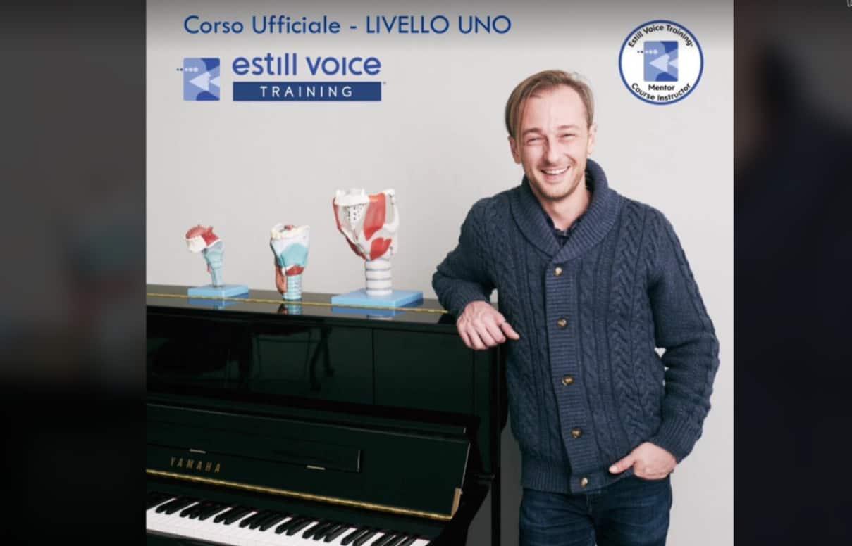 In partenza con Francesco Mecorio il corso ufficiale di livello 1 Estill Voice Training