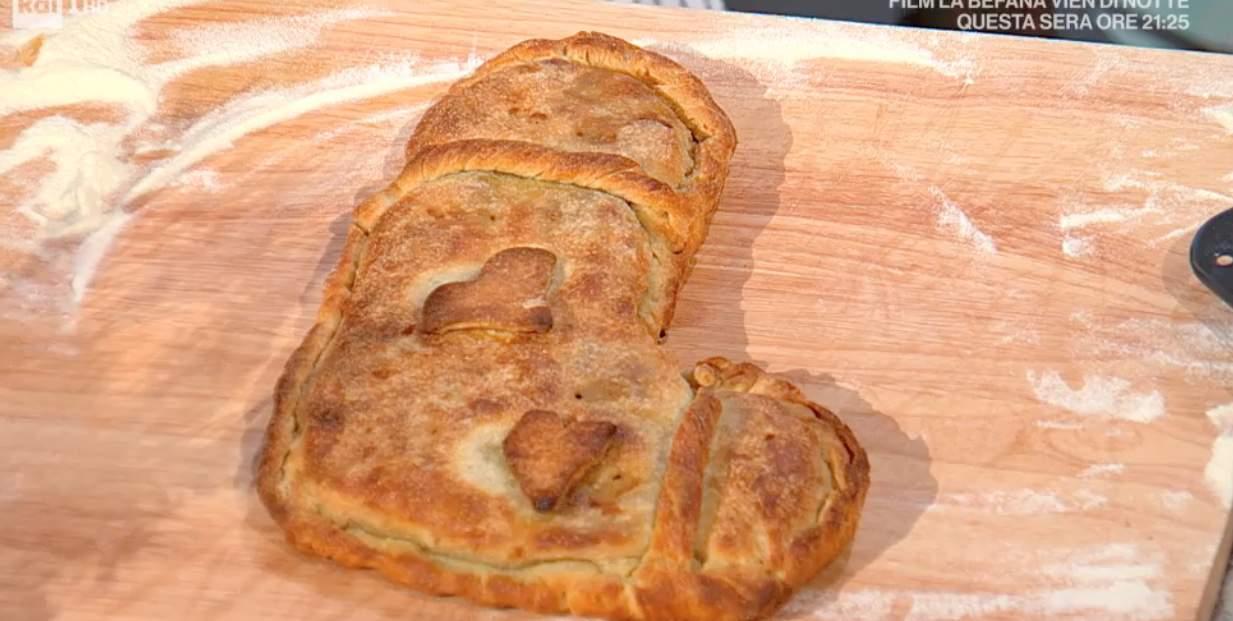 Calza della Befana di pane di Fulvio Marino, ricette E' sempre mezzogiorno