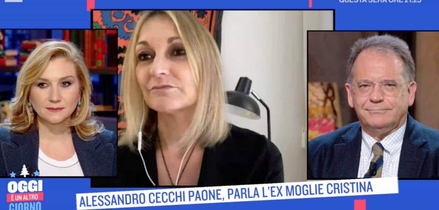 Alessandro Cecchi Paone e l'ex moglie, tra loro nessun rancore dopo tanto amore (Foto)