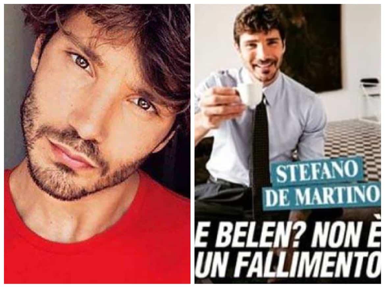 """Stefano de Martino e la fine del matrimonio con Belen: """"Non è un fallimento"""""""