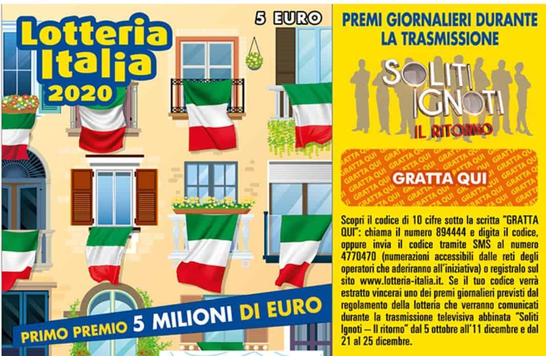 Lotteria Italia 2020: sono 25 biglietti che vincono 50mila