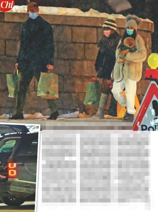 Giulia de Lellis e Carlo Gussalli sulla neve: le foto su Chi ma l'influencer ha mostrato tutti sui social
