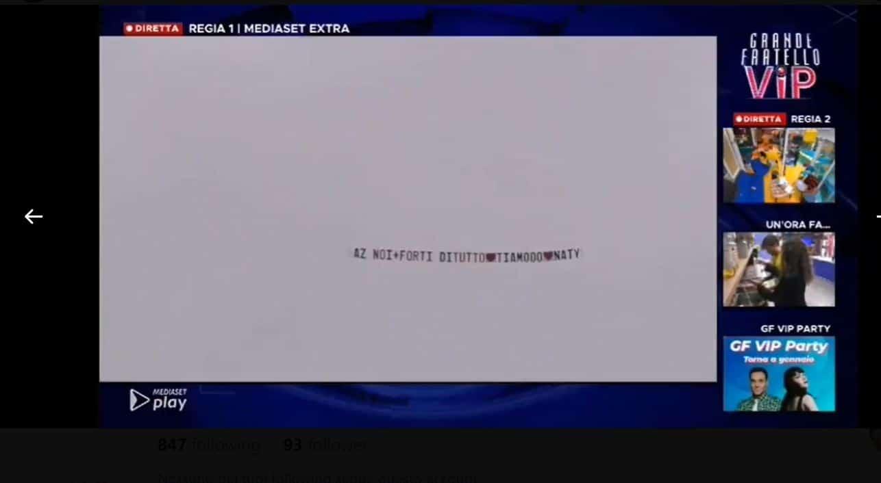 Natalia Paragoni manda un aereo ad Andrea Zelletta che esplode di felicità (VIDEO)