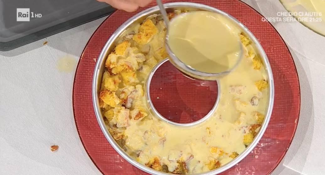 Budino di panettone, la ricetta di Sal De Riso per E' sempre mezzogiorno