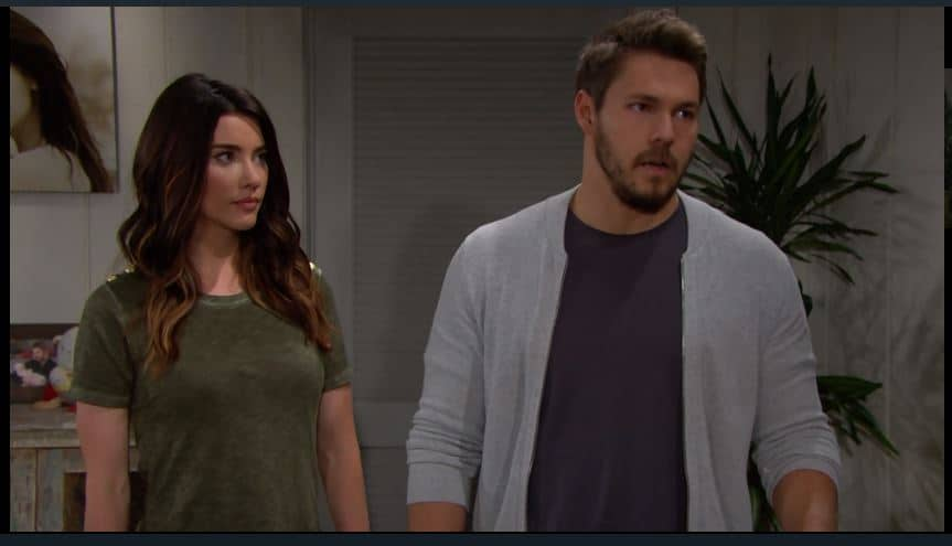 Beautiful anticipazioni: Liam ancora conteso tra Steffy e Hope mentre Thomas si prepara all'attacco