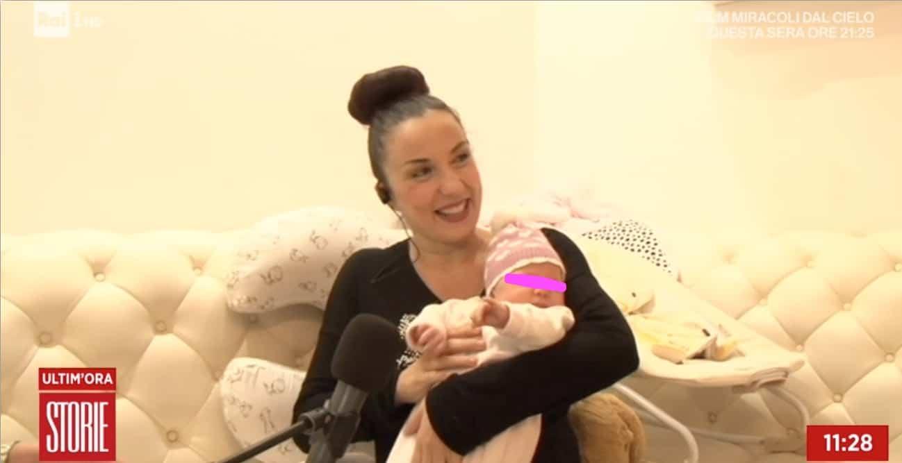 Pamela Petrarolo presenta la figlia di un mese ed è bellissima (Foto)