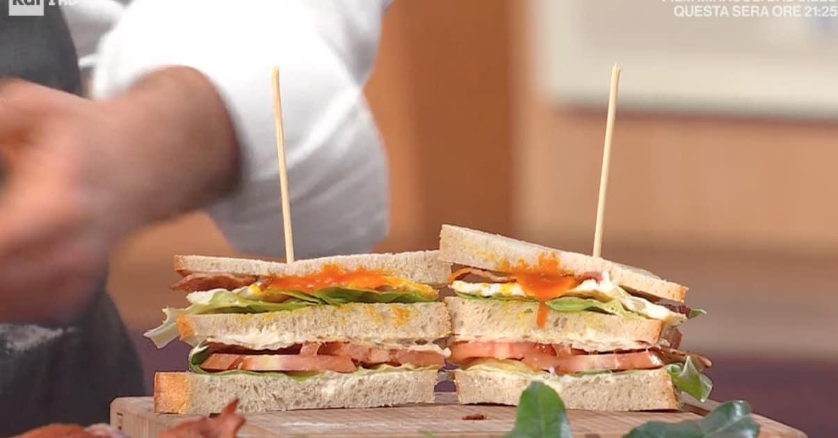 Club sandwich di Fulvio Marino, le ricette E' sempre mezzogiorno