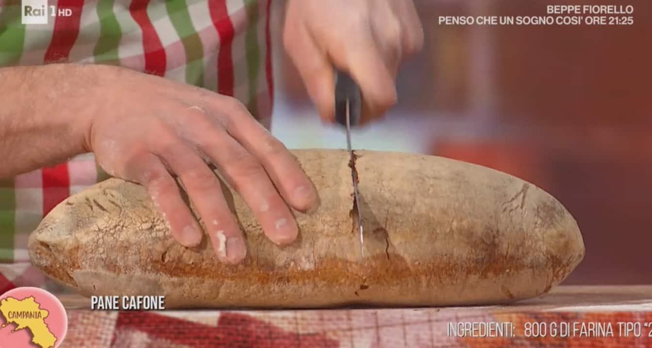 Pane cafone di Fulvio Marino, la ricetta di oggi E' sempre mezzogiorno