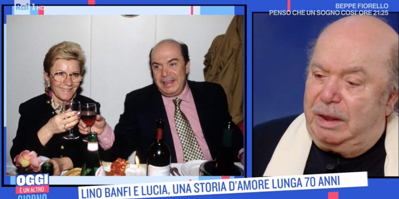Le lacrime di Lino Banfi per la moglie Lucia e la figlia, c'è anche dolore nel loro amore (Foto)