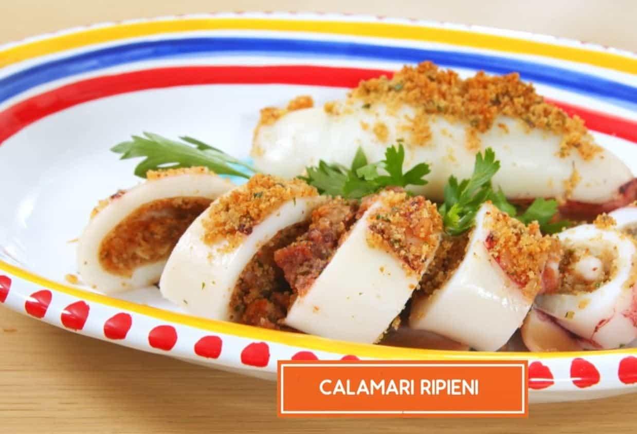 I calamari ripieni: una ricetta di Giusina in cucina