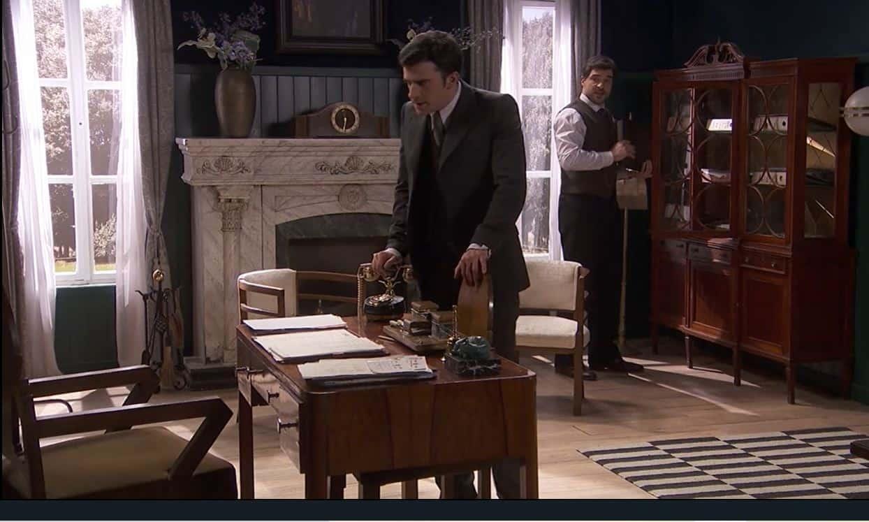 Il segreto anticipazioni: nervi tesi tra Tomas e Alicia, come finirà?