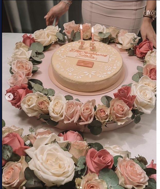 Per il compleanno di Giulia De Lellis il fidanzato ha usato tutto il romanticismo (Foto)