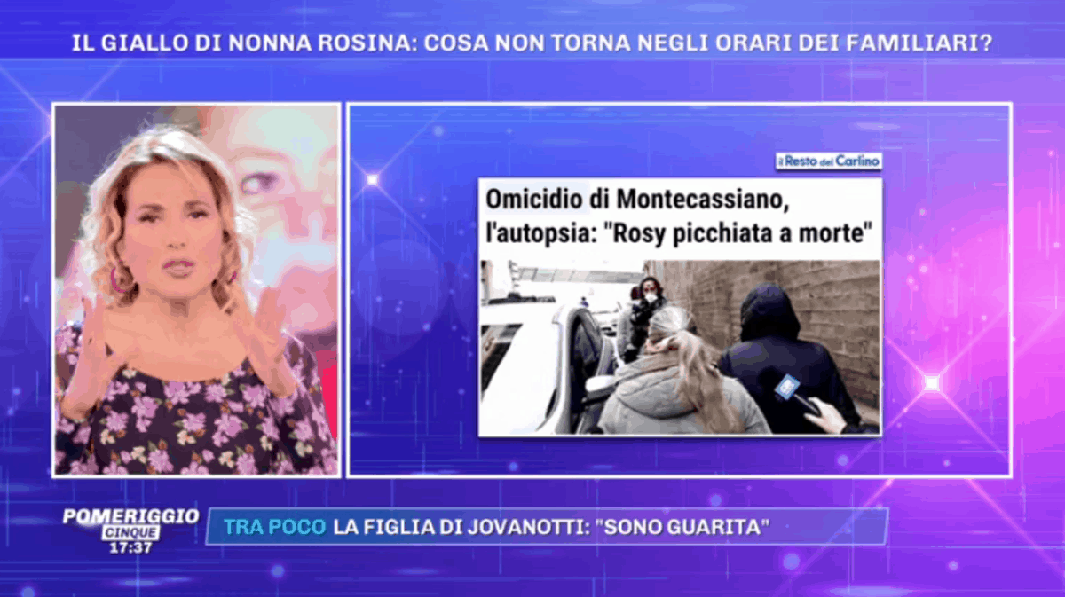 Omicidio nonna Rosina, parla l'ex marito della figlia: non esclude la colpevolezza di Arianna Orazi