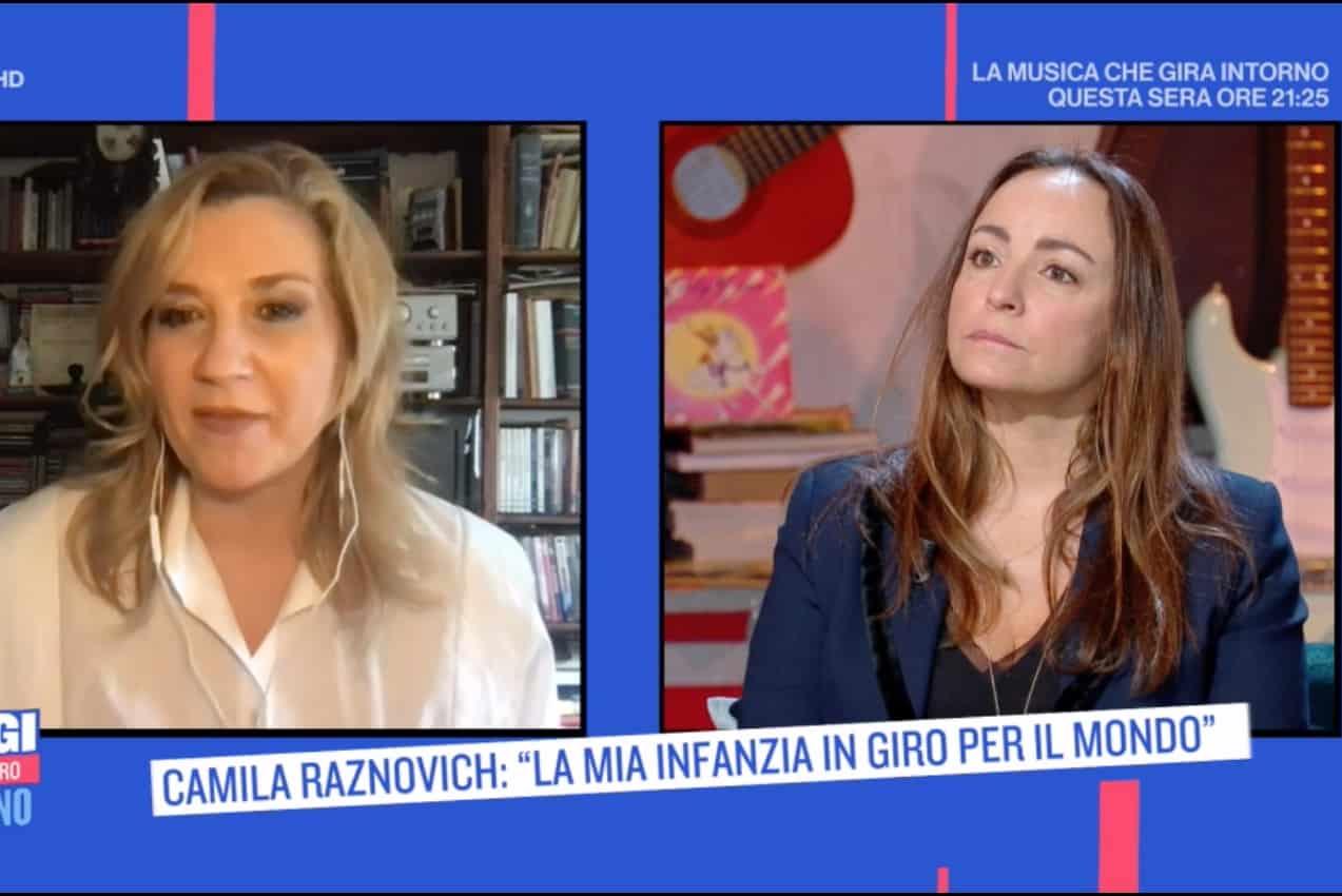 Camila Raznovich a Oggi è un altro giorno: forte, felice e in psicoterapia tutti i mesi