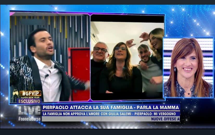Pierpaolo Pretelli chiede alla famiglia di non andare in tv: sua madre ospite di Live-Non è la d'Urso