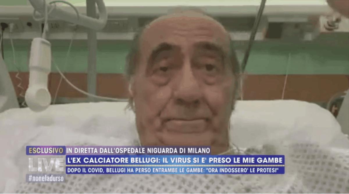 Mauro Bellugi commuove nella prima intervista dopo l'amputazione delle gambe per il Covid