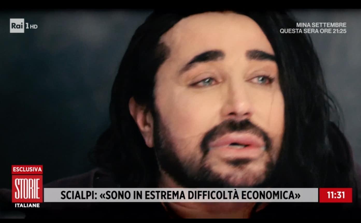 """Scialpi a Storie Italiane, è in grave difficoltà: """"Ho il vuoto dentro"""" (Foto)"""