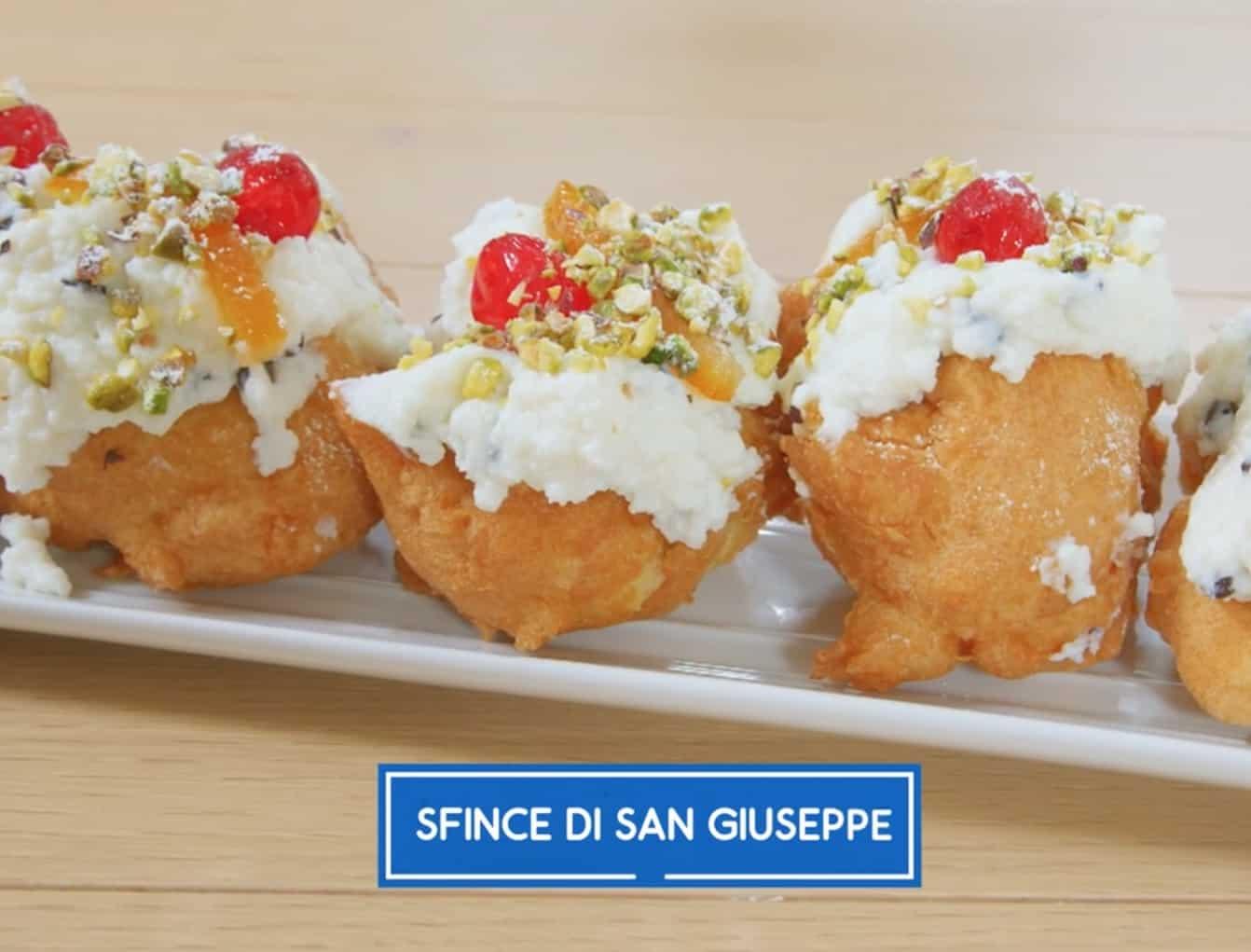 Sfince di San Giuseppe, la ricetta dolce di Giusina in cucina