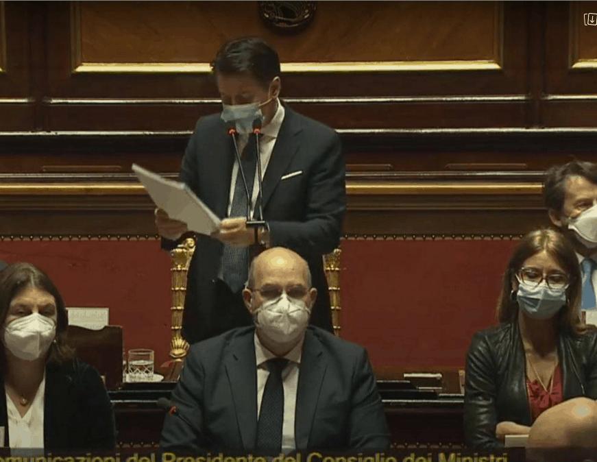 Conte, fiducia alla Camera: oggi si decide in Senato