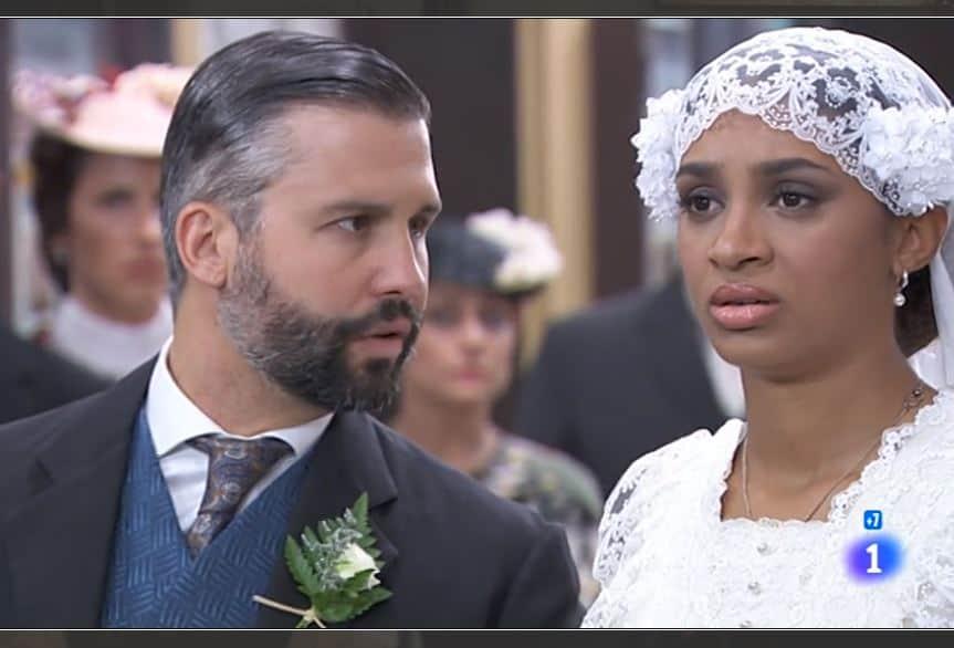Una vita anticipazioni: Marcia e Felipe pronti alle nozze ma arriva Santiago, lei è già sposata?