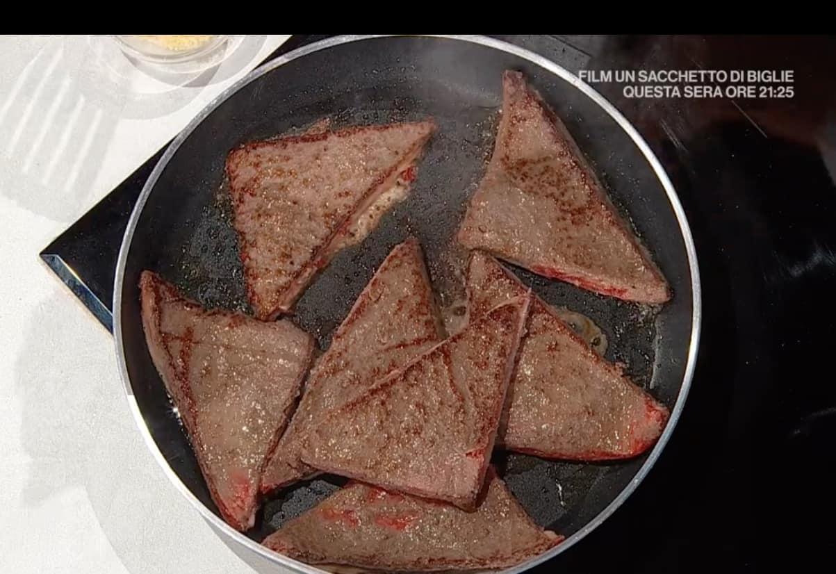 Tramezzini di carne ripieni di Buzzi, la ricetta E' sempre mezzogiorno