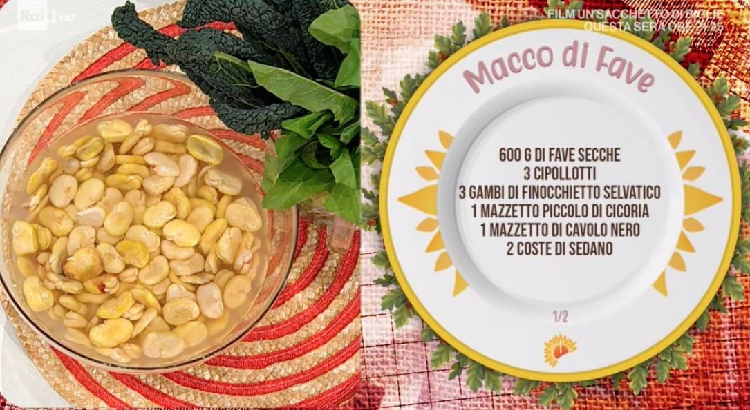 Angela Frenda: la ricetta del macco di fave ricorda la storia d'amore di Elsa Morante e Alberto Moravia