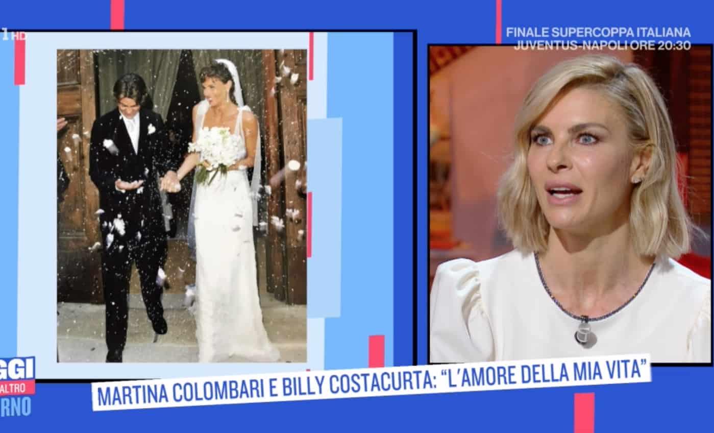 Martina Colombari, il papà le chiese di passare la fascia alla seconda classificata a Miss Italia (Foto)