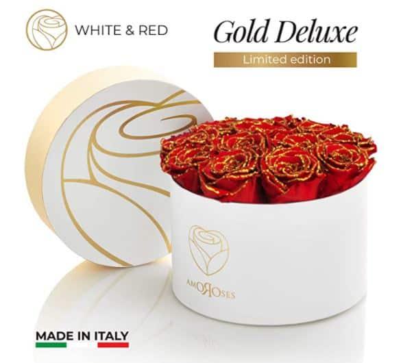Rose stabilizzate da regalare a San Valentino: comprale on line