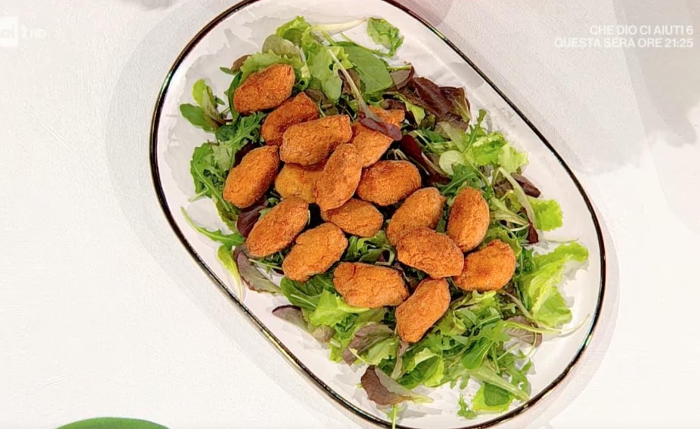 Nuggets di pollo di zia Cri, la ricetta di oggi E' sempre mezzogiorno