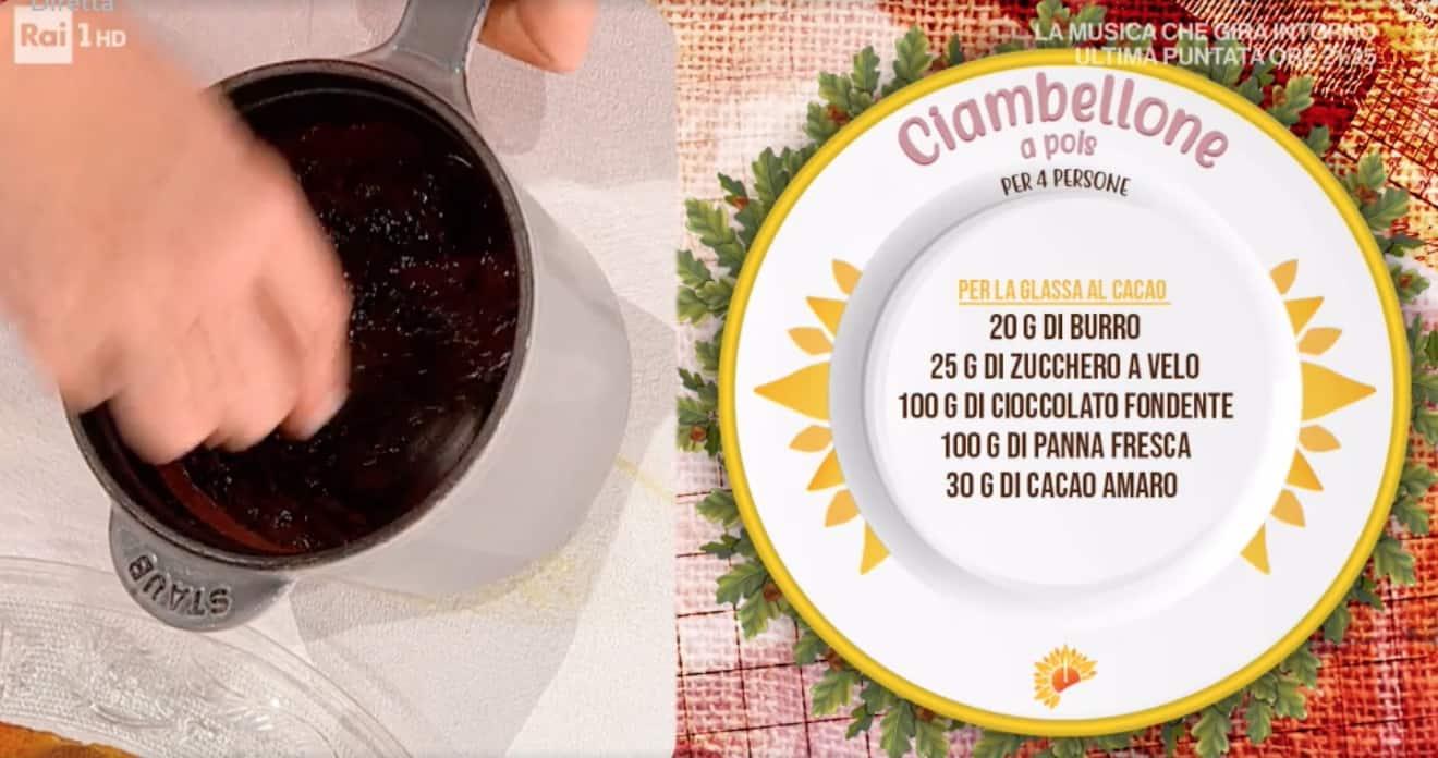 Ciambellone a pois di Natalia Cattelani, ricette dolci E' sempre mezzogiorno
