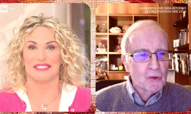 Il primo marito di Antonella Clerici, con Dan Peterson tornano i ricordi del passato