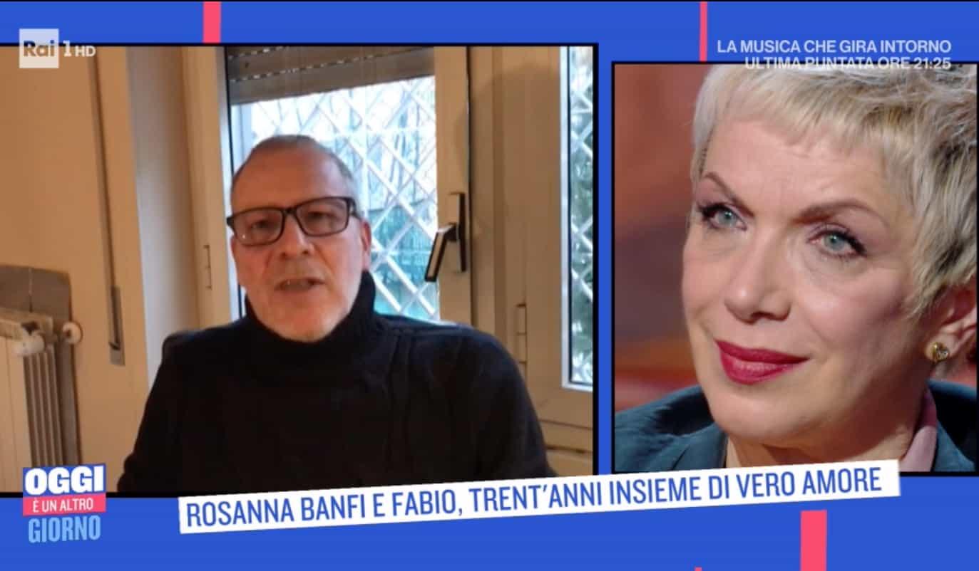 Il marito di Rosanna Banfi la sorprende con il suo messaggio a Oggi è un altro giorno (Foto)
