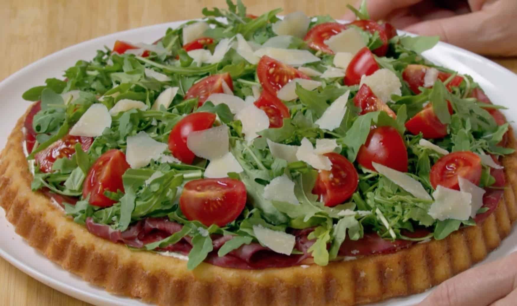 Crostata salata soffice, la ricetta di Benedetta Rossi