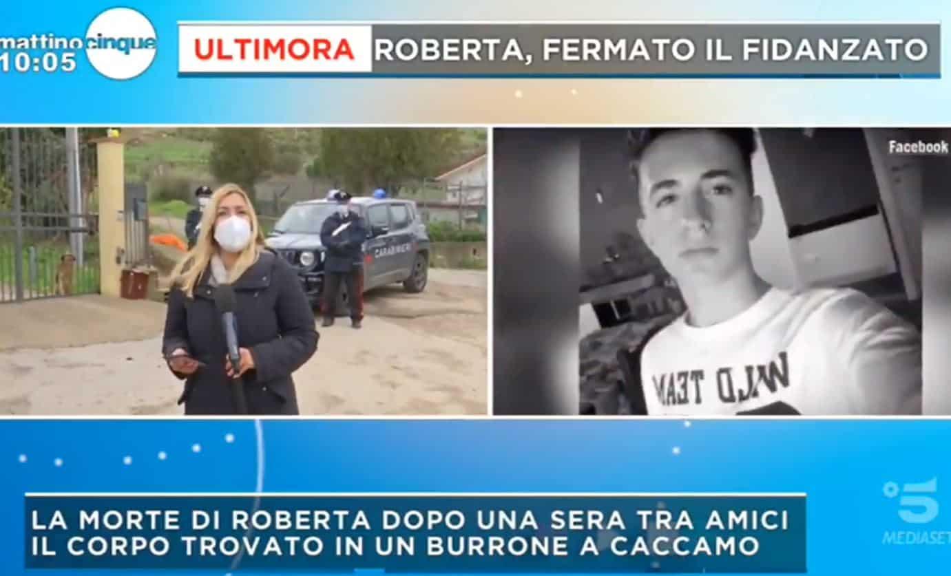 Fermato per omicidio e occultamento di cadavere Pietro Morreale il fidanzato di Roberta