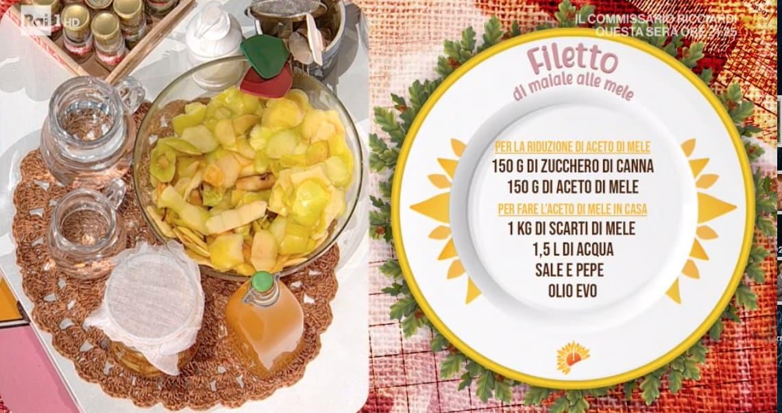 Filetto di maiale alle mele di Barbara De Nigris per le ricette E' sempre mezzogiorno
