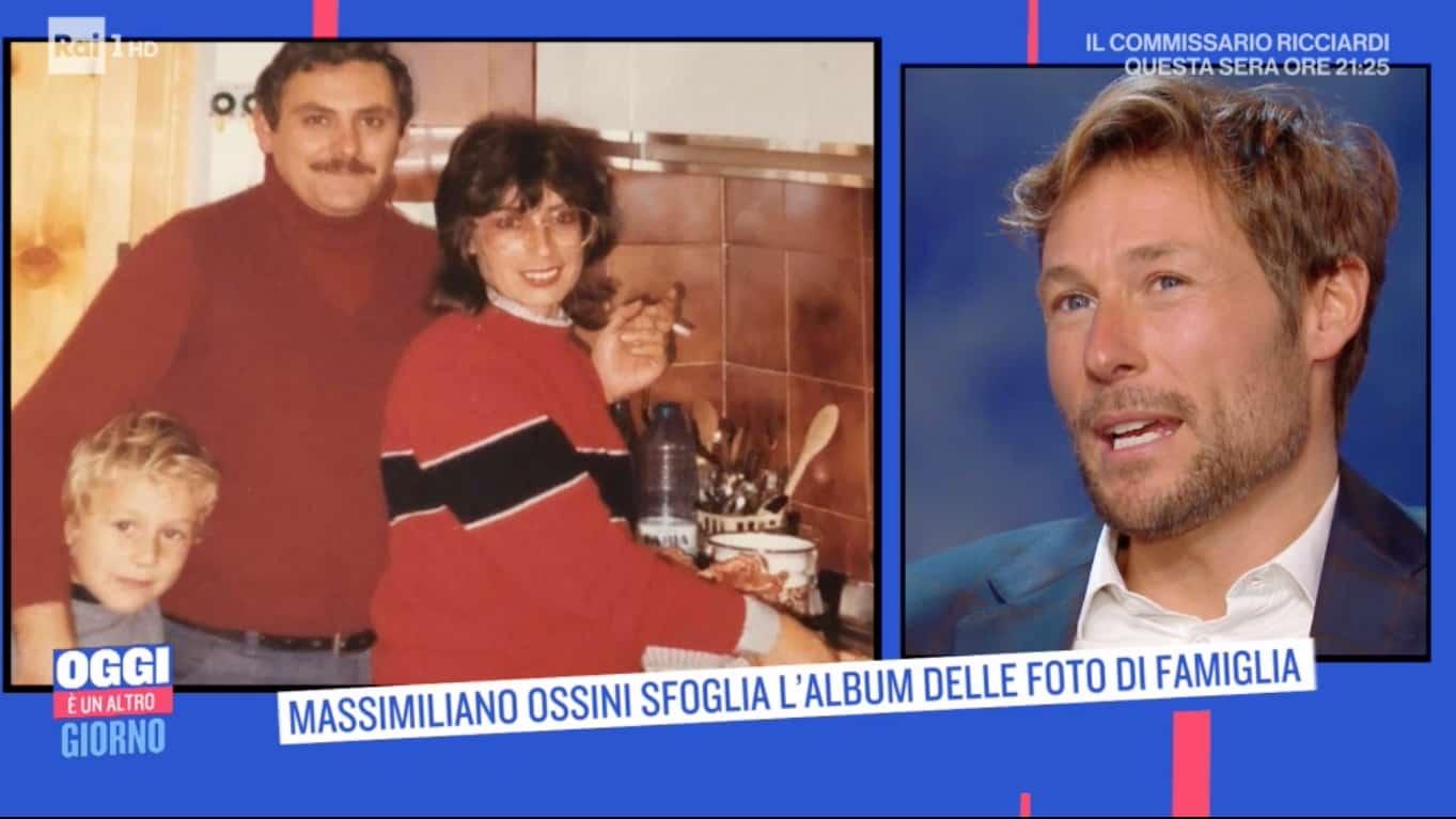 La famiglia di Massimiliano Ossini, la sofferenza e il nipote cresciuto come un figlio (Foto)