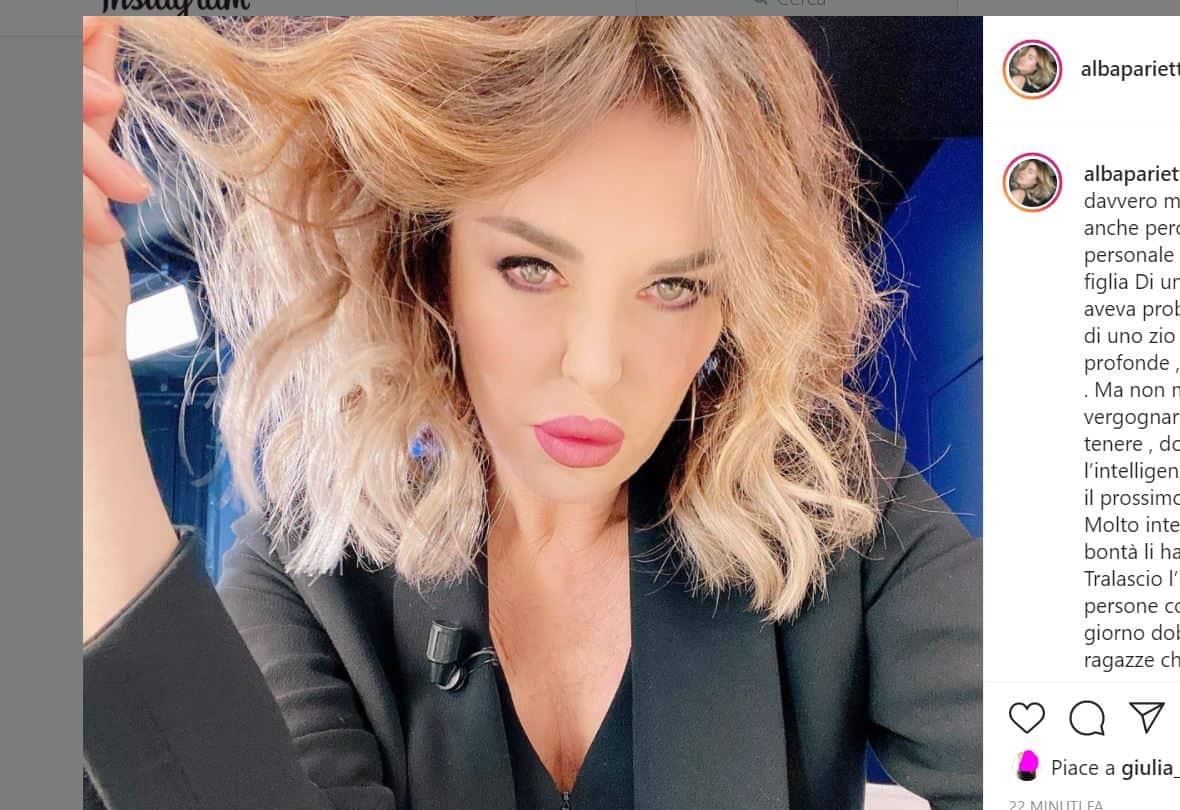 Alba Parietti chiede provvedimenti contro Dayane Mello dopo le frasi sui malati mentali