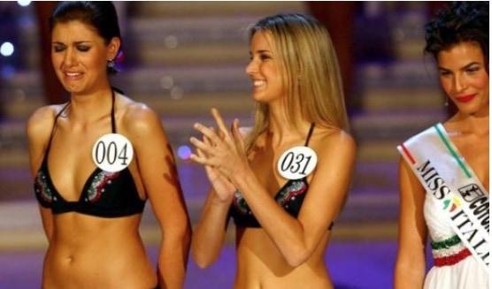 L'ex Miss Italia Claudia Andreatti col pancione ma è già al nono mese (Foto)